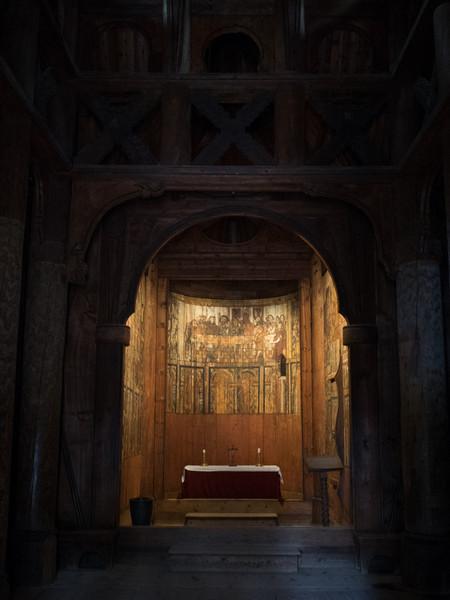 Stave Church Altar