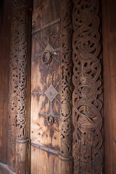 Stave Church Door