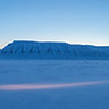 Panorama from Advent Valley, Svalbard