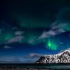Fading Aurora at Flakstad