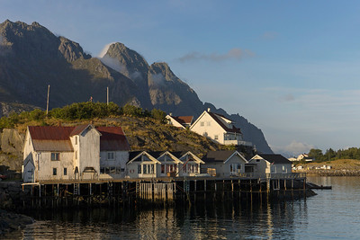 Henningsvær in sunshine for a change :)