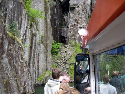 Tour on Lysefjorden - May 2003