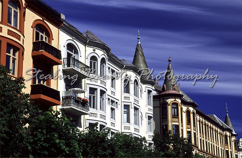 Oslo townhouses