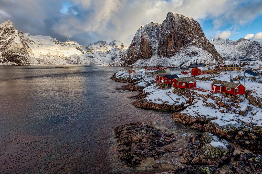 Eliassen Rorbuer - Hamnøy Norway