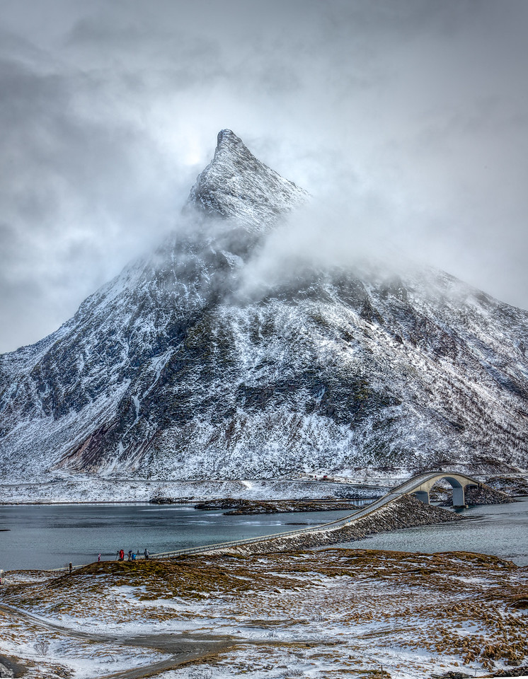 Flakstadøya Peak
