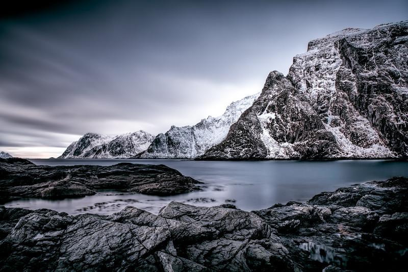 The coast of Å