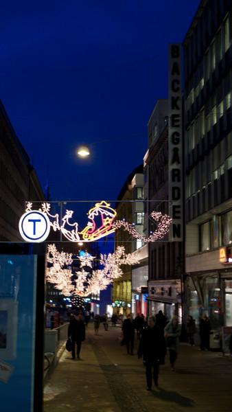 """Karl Johan Gate"" shopping street"