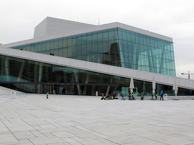 The Opera in Oslo, Oslo - Operaen - September 2010