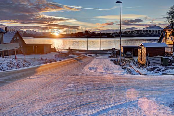 Tromsø Sunset And Sunrise