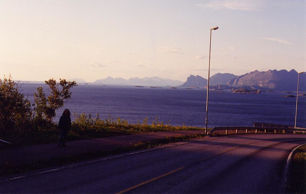 Highway 834 north of Bodø, 10:00pm - 1995