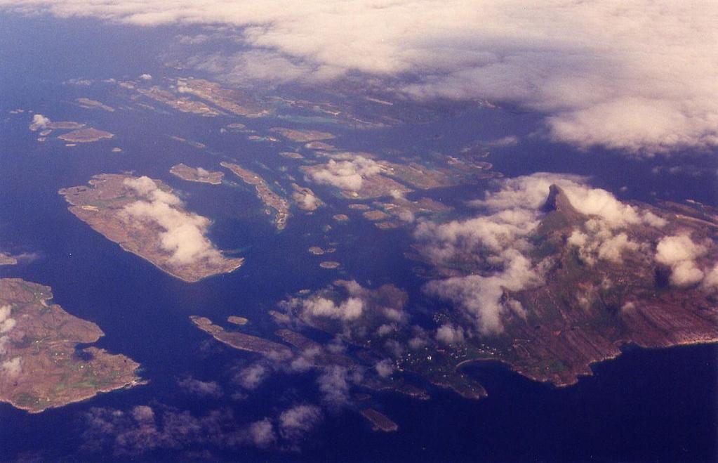 approaching Bodø by plane, 1995