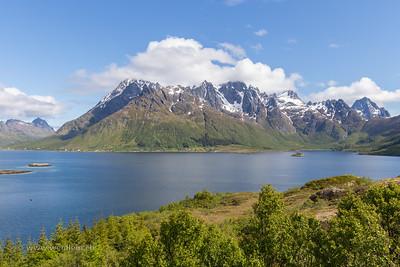 Austnesfjorden Mountains