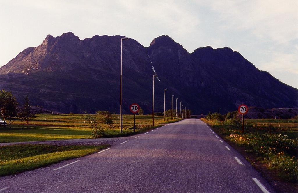 Highway 834 north of Bodø, 1995