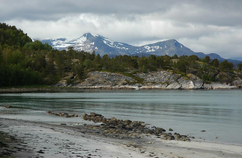 near Sjøvegan