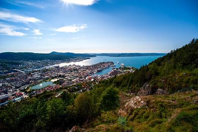 Mount Fløyen, Bergen