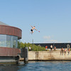 Sunning and swimming  on Copenhagen's <br /> canals