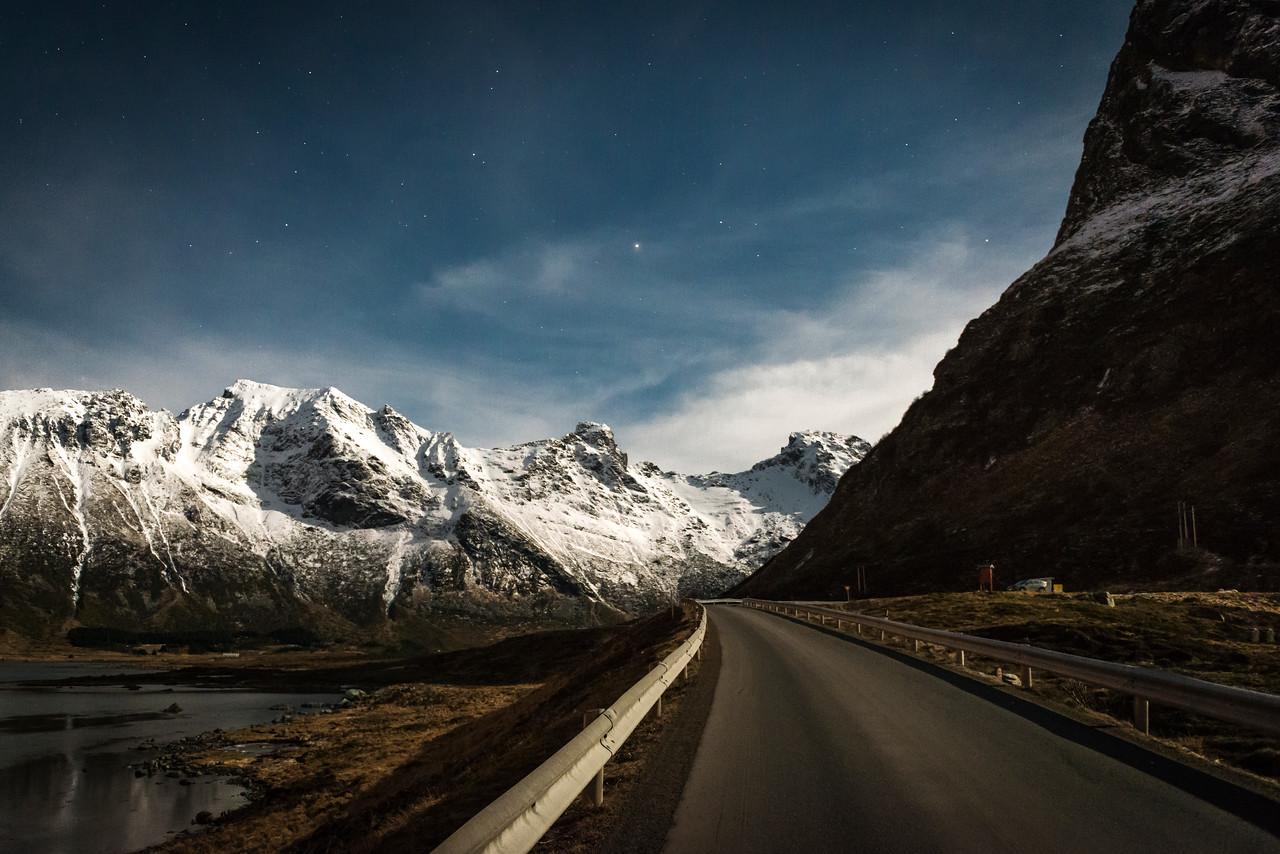 two bridges behind | fredvang, norway