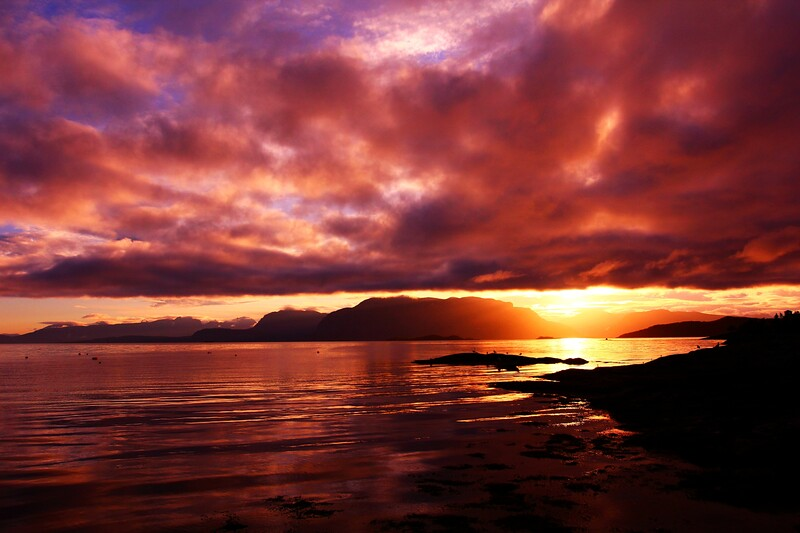 NOR- Sunrise near  Harstad -IMG_1356sm