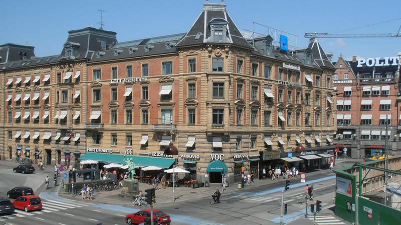Copenhagen, Denmark<br /> View from our hotel