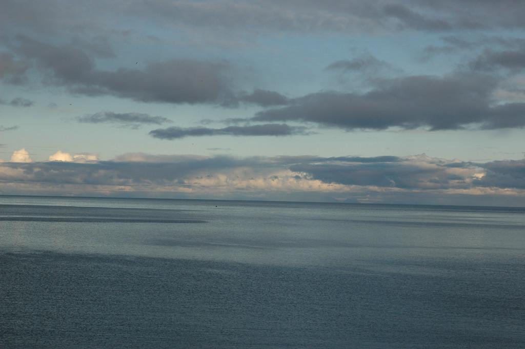 Vestfjorden (the channel between Lofoten and mainland Norway)