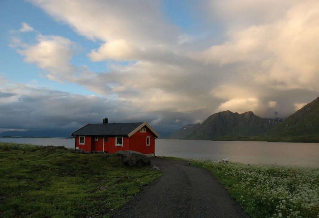 near Fiskebøl, Lofoten