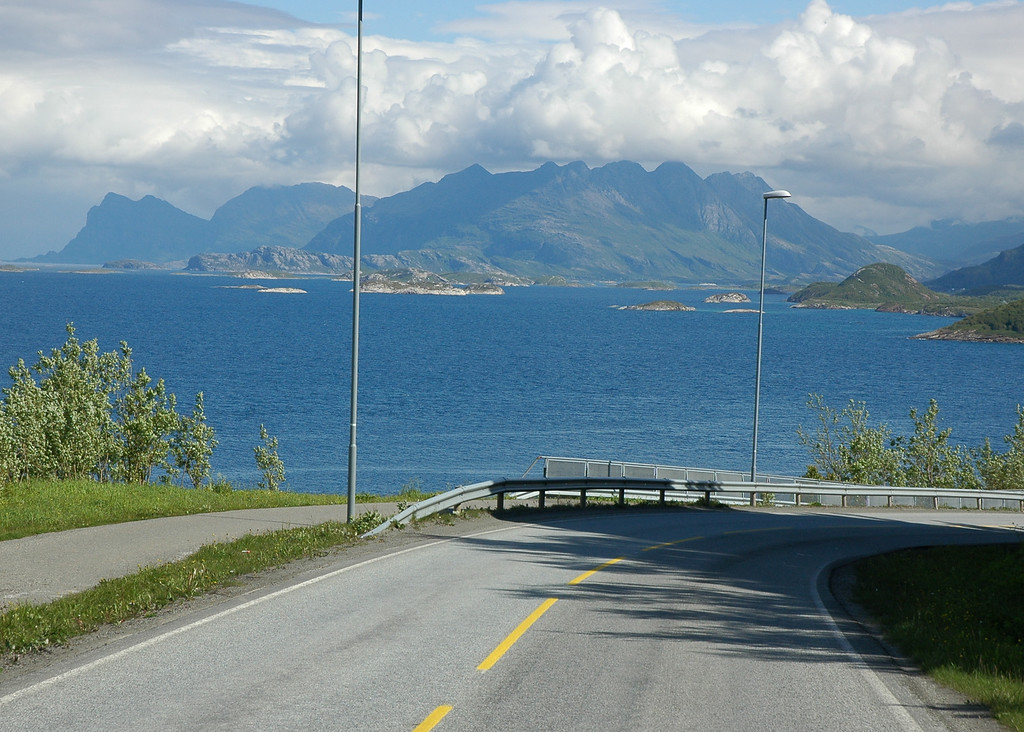 Highway 834 north of Bodø