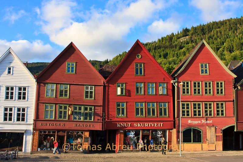 Bryggen (Old Quaside), Bergen, Norway