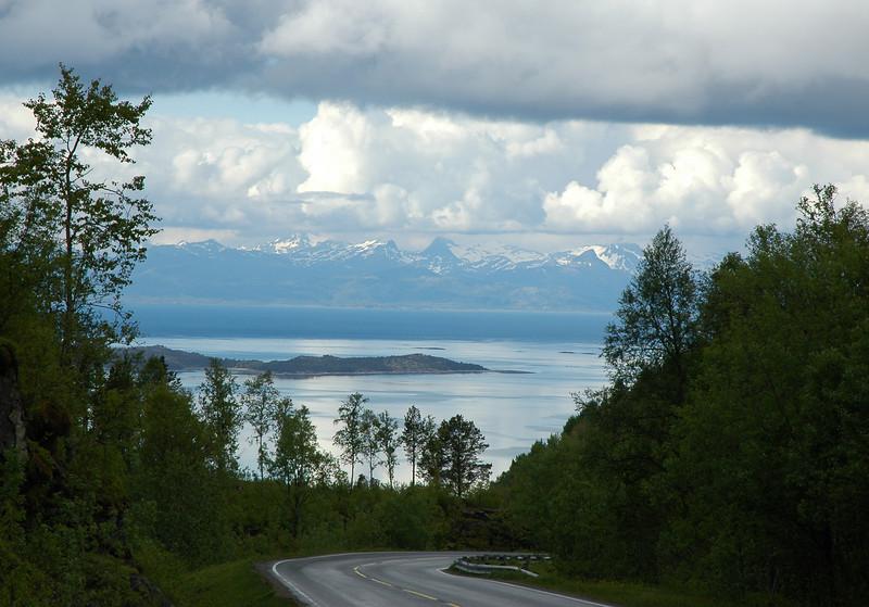 Route 81, near Hamsund