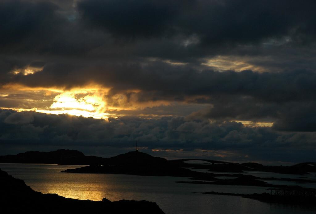 midnight sky, Lofoten
