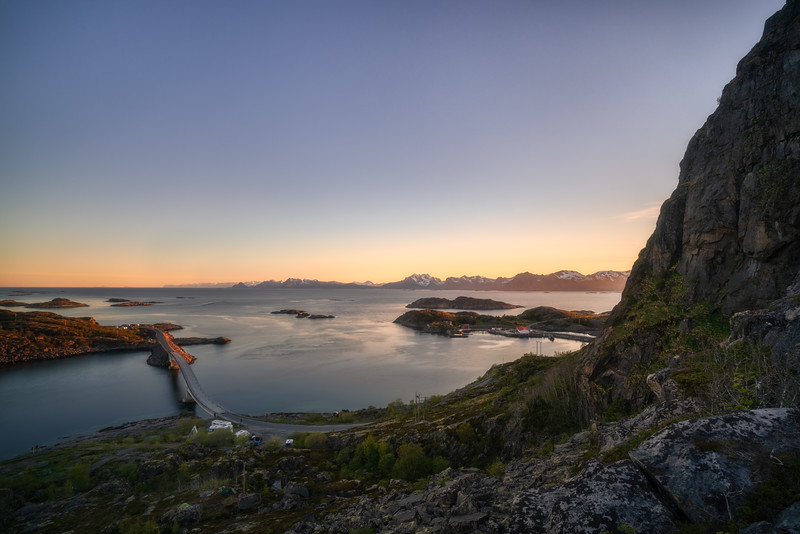 Bridge to Henningsvaer