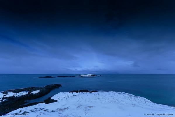 Night at the North Sea