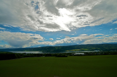 Overlooking Lillehammer Norway from the Ski Jump Landing Area - http://en.wikipedia.org/wiki/1994_Winter_Olympics