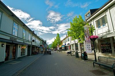 Lillehammer - Shopping Street
