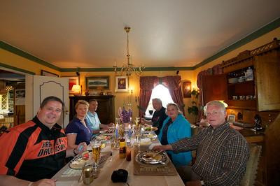 L to R: Bud, Line, Olave, Bud, Betty, Lars