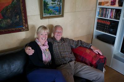 Elsbet and Lars Erik at Elsbet Elton's house