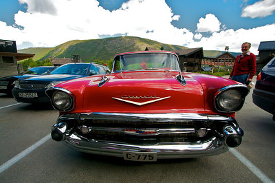 1957 Chev Belair in Lom Norway