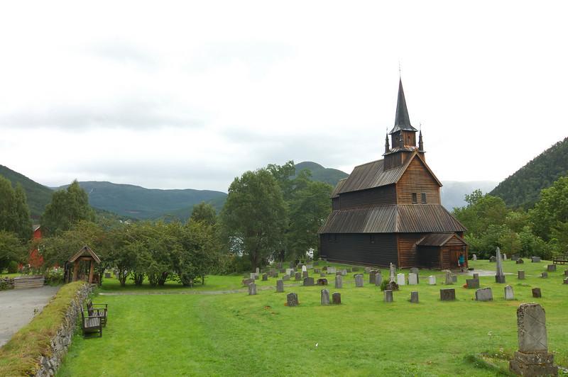 Norwegian church in Kaupanger
