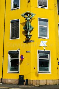 Street Corner in Oslo
