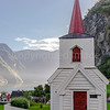 Undredal stave church, the smallest in Norway