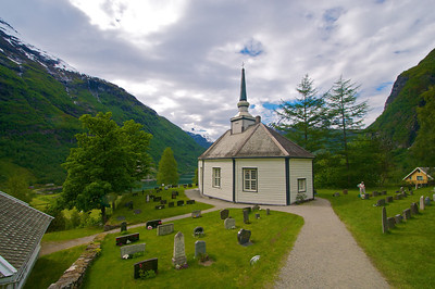 Geiranger Church and Cemetary