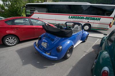 Volkswagens in Geiranger