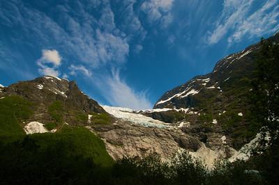 Bøyabreen Glacier, Fjærland http://www.visitnorway.com/en/Product/?pid=72624