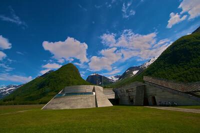 The Norwegian Glacier Museum http://en.wikipedia.org/wiki/Norwegian_Glacier_Museum