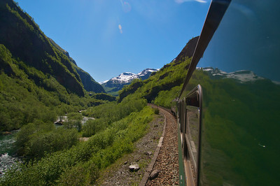 The Flam Railway http://en.wikipedia.org/wiki/Flam_railway