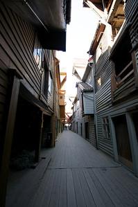 Wooden Streets in Bergen Norway