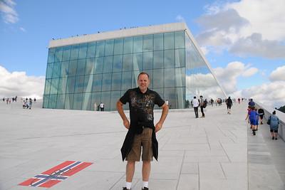 The new Opera in Oslo.
