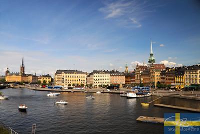 Gamla Stan-The Old City.   Stockholm, Sweden.  July 21, 2010