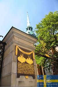 The Tyska Kyrkan or Deutsche Kirche in Stockholm.