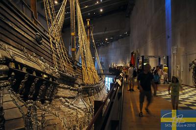 The Vasa Museet.  Stockholm.