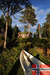 Stengel hytta at Tollsjøen.  July 24, 2010